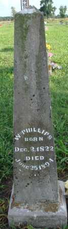 PHILLIPS, WILLIAM - Benton County, Arkansas | WILLIAM PHILLIPS - Arkansas Gravestone Photos
