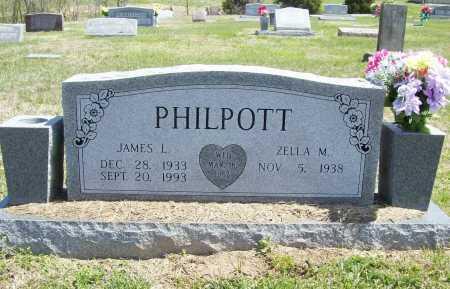 PHILPOTT, JAMES LEO - Benton County, Arkansas | JAMES LEO PHILPOTT - Arkansas Gravestone Photos