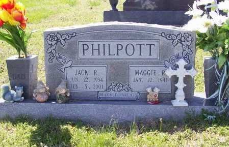 PHILPOTT, JACK R. - Benton County, Arkansas | JACK R. PHILPOTT - Arkansas Gravestone Photos