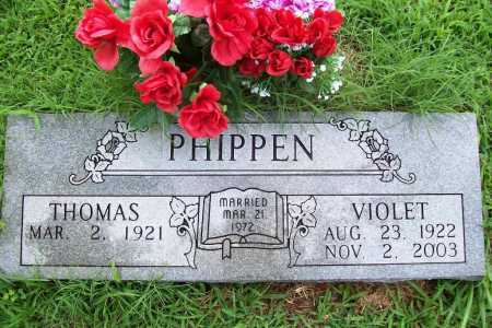 PHIPPEN, VIOLET - Benton County, Arkansas | VIOLET PHIPPEN - Arkansas Gravestone Photos