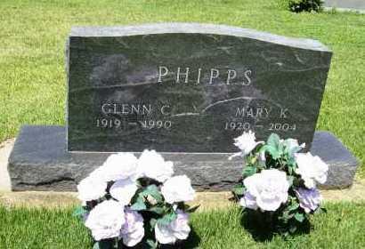 PHIPPS, MARY K. - Benton County, Arkansas | MARY K. PHIPPS - Arkansas Gravestone Photos