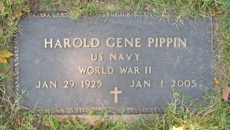 PIPPIN (VETERAN WWII), HAROLD GENE - Benton County, Arkansas | HAROLD GENE PIPPIN (VETERAN WWII) - Arkansas Gravestone Photos