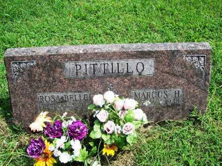 PITTILLO, MARCUS H. - Benton County, Arkansas | MARCUS H. PITTILLO - Arkansas Gravestone Photos