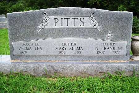 PITTS, N. FRANKLIN - Benton County, Arkansas | N. FRANKLIN PITTS - Arkansas Gravestone Photos