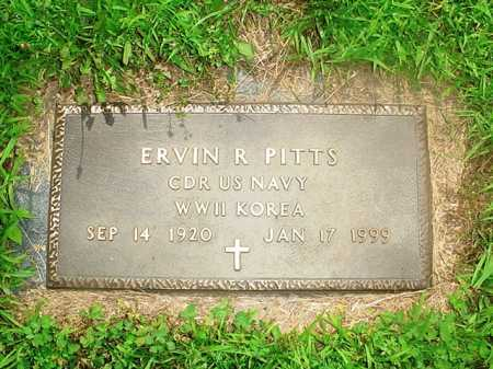 PITTS (VETERAN 2 WARS), ERVIN R. - Benton County, Arkansas | ERVIN R. PITTS (VETERAN 2 WARS) - Arkansas Gravestone Photos