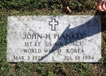 PLANKEY (VETERAN 2 WARS), JOHN H - Benton County, Arkansas | JOHN H PLANKEY (VETERAN 2 WARS) - Arkansas Gravestone Photos