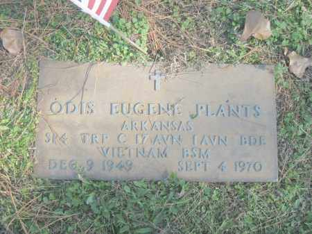 PLANTS (VETERAN VIET), ODIS EUGENE - Benton County, Arkansas | ODIS EUGENE PLANTS (VETERAN VIET) - Arkansas Gravestone Photos