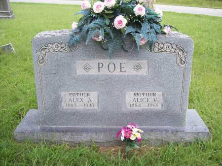 POE, ALEX A. - Benton County, Arkansas | ALEX A. POE - Arkansas Gravestone Photos