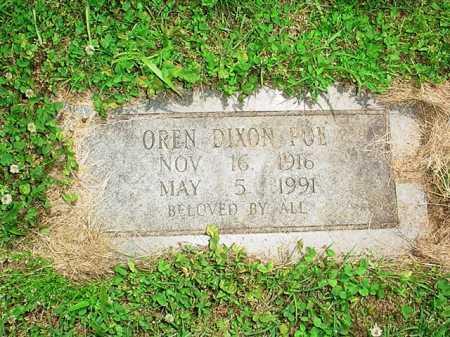 POE, OREN DIXON - Benton County, Arkansas | OREN DIXON POE - Arkansas Gravestone Photos