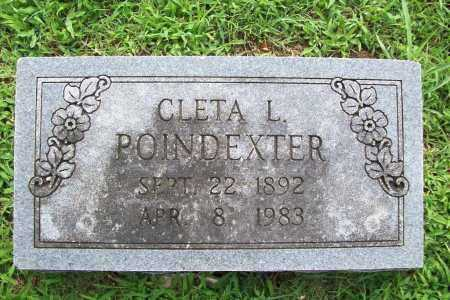 POINDEXTER, CLETA L. - Benton County, Arkansas | CLETA L. POINDEXTER - Arkansas Gravestone Photos