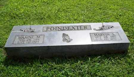 POINDEXTER, MARVIN S. - Benton County, Arkansas | MARVIN S. POINDEXTER - Arkansas Gravestone Photos