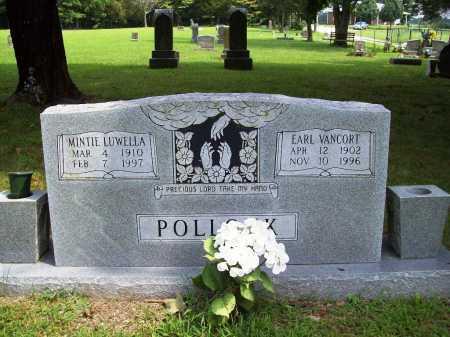 POLLOCK, MINTIE LUWELLA - Benton County, Arkansas | MINTIE LUWELLA POLLOCK - Arkansas Gravestone Photos