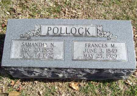 POLLOCK, FRANCES M. - Benton County, Arkansas | FRANCES M. POLLOCK - Arkansas Gravestone Photos