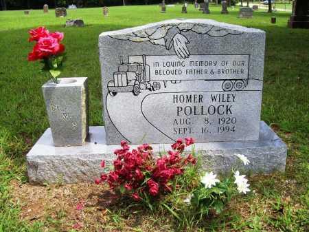 POLLOCK, HOMER WILEY - Benton County, Arkansas | HOMER WILEY POLLOCK - Arkansas Gravestone Photos