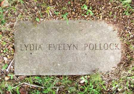 POLLOCK, LYDIA EVELYN - Benton County, Arkansas | LYDIA EVELYN POLLOCK - Arkansas Gravestone Photos
