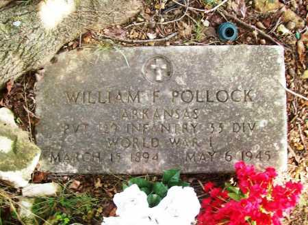 POLLOCK (VETERAN WWI), WILLIAM F. - Benton County, Arkansas | WILLIAM F. POLLOCK (VETERAN WWI) - Arkansas Gravestone Photos