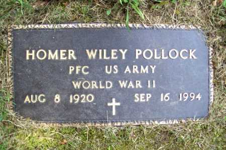 POLLOCK (VETERAN WWII), HOMER WILEY - Benton County, Arkansas | HOMER WILEY POLLOCK (VETERAN WWII) - Arkansas Gravestone Photos