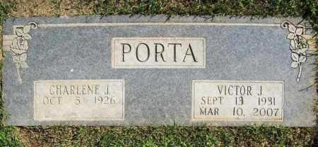"PORTA, CHARLENE J. ""CHAR"" - Benton County, Arkansas | CHARLENE J. ""CHAR"" PORTA - Arkansas Gravestone Photos"