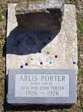 PORTER, ARLIS - Benton County, Arkansas | ARLIS PORTER - Arkansas Gravestone Photos