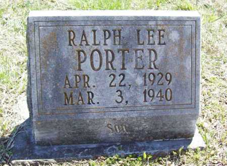 PORTER, RALPH LEE - Benton County, Arkansas | RALPH LEE PORTER - Arkansas Gravestone Photos