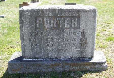 PORTER, HATTIE M. - Benton County, Arkansas | HATTIE M. PORTER - Arkansas Gravestone Photos
