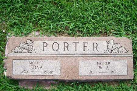 PORTER, EDNA - Benton County, Arkansas | EDNA PORTER - Arkansas Gravestone Photos