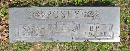 "POSEY, B. P. ""UNCLE PINK"" - Benton County, Arkansas 