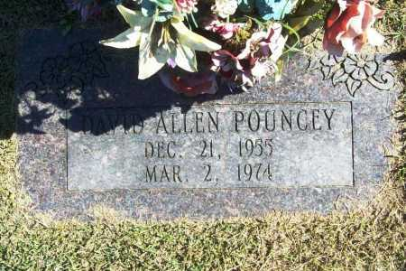 POUNCEY, DAVID ALLEN - Benton County, Arkansas | DAVID ALLEN POUNCEY - Arkansas Gravestone Photos