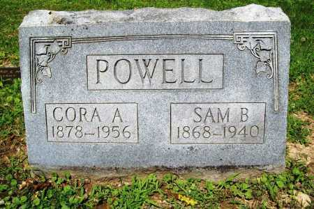 POWELL, CORA A. - Benton County, Arkansas | CORA A. POWELL - Arkansas Gravestone Photos