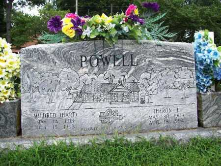 POWELL, THERON L. - Benton County, Arkansas | THERON L. POWELL - Arkansas Gravestone Photos