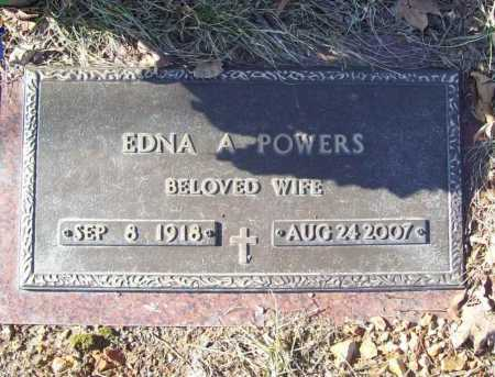 HANNASCH POWERS, EDNA ANN - Benton County, Arkansas | EDNA ANN HANNASCH POWERS - Arkansas Gravestone Photos