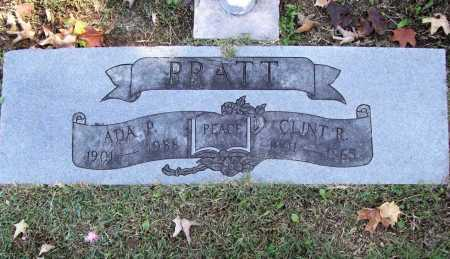 PRATT, ADA P. - Benton County, Arkansas | ADA P. PRATT - Arkansas Gravestone Photos