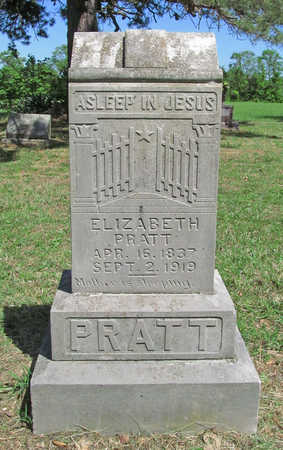 PRATT, ELIZABETH - Benton County, Arkansas | ELIZABETH PRATT - Arkansas Gravestone Photos
