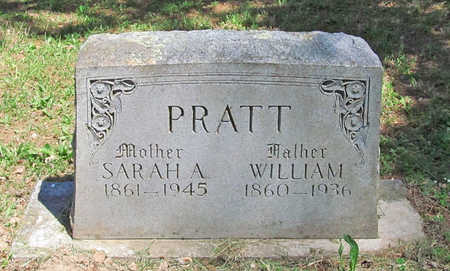 PRATT, WILLIAM - Benton County, Arkansas | WILLIAM PRATT - Arkansas Gravestone Photos