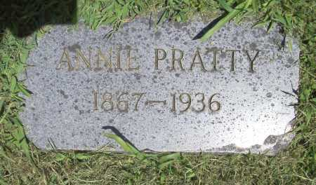 PRATTY, ANNIE - Benton County, Arkansas | ANNIE PRATTY - Arkansas Gravestone Photos