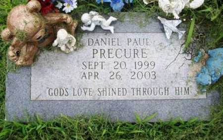 PRECURE, DANIEL PAUL - Benton County, Arkansas | DANIEL PAUL PRECURE - Arkansas Gravestone Photos