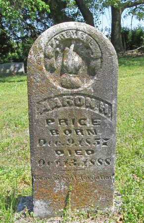PRICE, AARON H - Benton County, Arkansas | AARON H PRICE - Arkansas Gravestone Photos