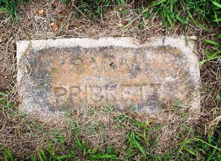 PRICKETT, SARAH - Benton County, Arkansas | SARAH PRICKETT - Arkansas Gravestone Photos