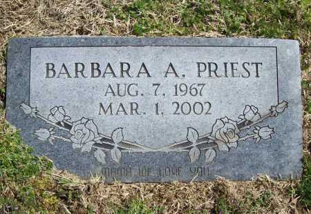PRIEST, BARBARA A. - Benton County, Arkansas | BARBARA A. PRIEST - Arkansas Gravestone Photos