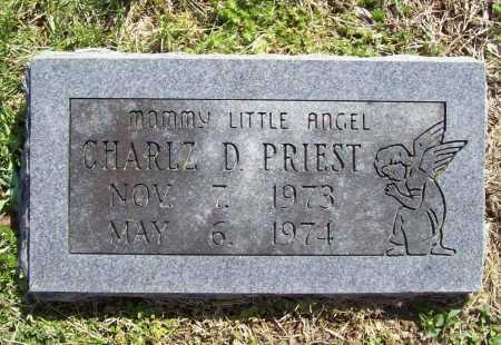PRIEST, CHARLZ D. - Benton County, Arkansas   CHARLZ D. PRIEST - Arkansas Gravestone Photos