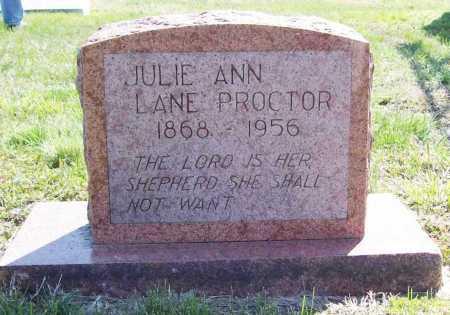 LANE PROCTOR, JULIE ANN - Benton County, Arkansas | JULIE ANN LANE PROCTOR - Arkansas Gravestone Photos