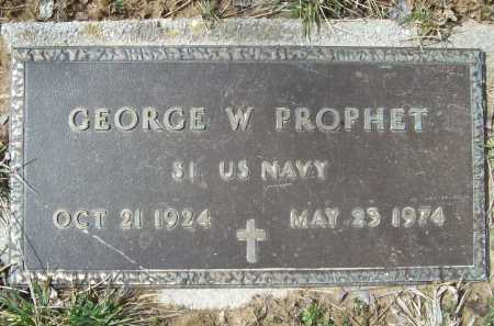 PROPHET (VETERAN), GEORGE WAYMON - Benton County, Arkansas | GEORGE WAYMON PROPHET (VETERAN) - Arkansas Gravestone Photos