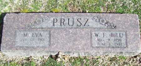 PRUSZ, WILLIAM F. (BILL) - Benton County, Arkansas | WILLIAM F. (BILL) PRUSZ - Arkansas Gravestone Photos