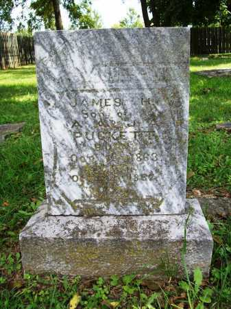 PUCKETT, JAMES H. - Benton County, Arkansas | JAMES H. PUCKETT - Arkansas Gravestone Photos