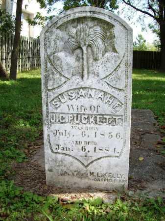 PUCKETT, SUSANAH F. - Benton County, Arkansas | SUSANAH F. PUCKETT - Arkansas Gravestone Photos