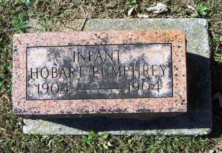 PUMPHREY, HOBART - Benton County, Arkansas | HOBART PUMPHREY - Arkansas Gravestone Photos