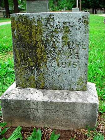 PURL, SUSAN A. - Benton County, Arkansas | SUSAN A. PURL - Arkansas Gravestone Photos