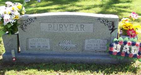 PURYEAR, ROBERT N. - Benton County, Arkansas | ROBERT N. PURYEAR - Arkansas Gravestone Photos