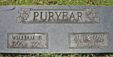 PURYEAR, WILLIAM B - Benton County, Arkansas | WILLIAM B PURYEAR - Arkansas Gravestone Photos