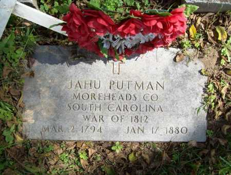 PUTMAN (VETERAN 1812), JAHU - Benton County, Arkansas | JAHU PUTMAN (VETERAN 1812) - Arkansas Gravestone Photos